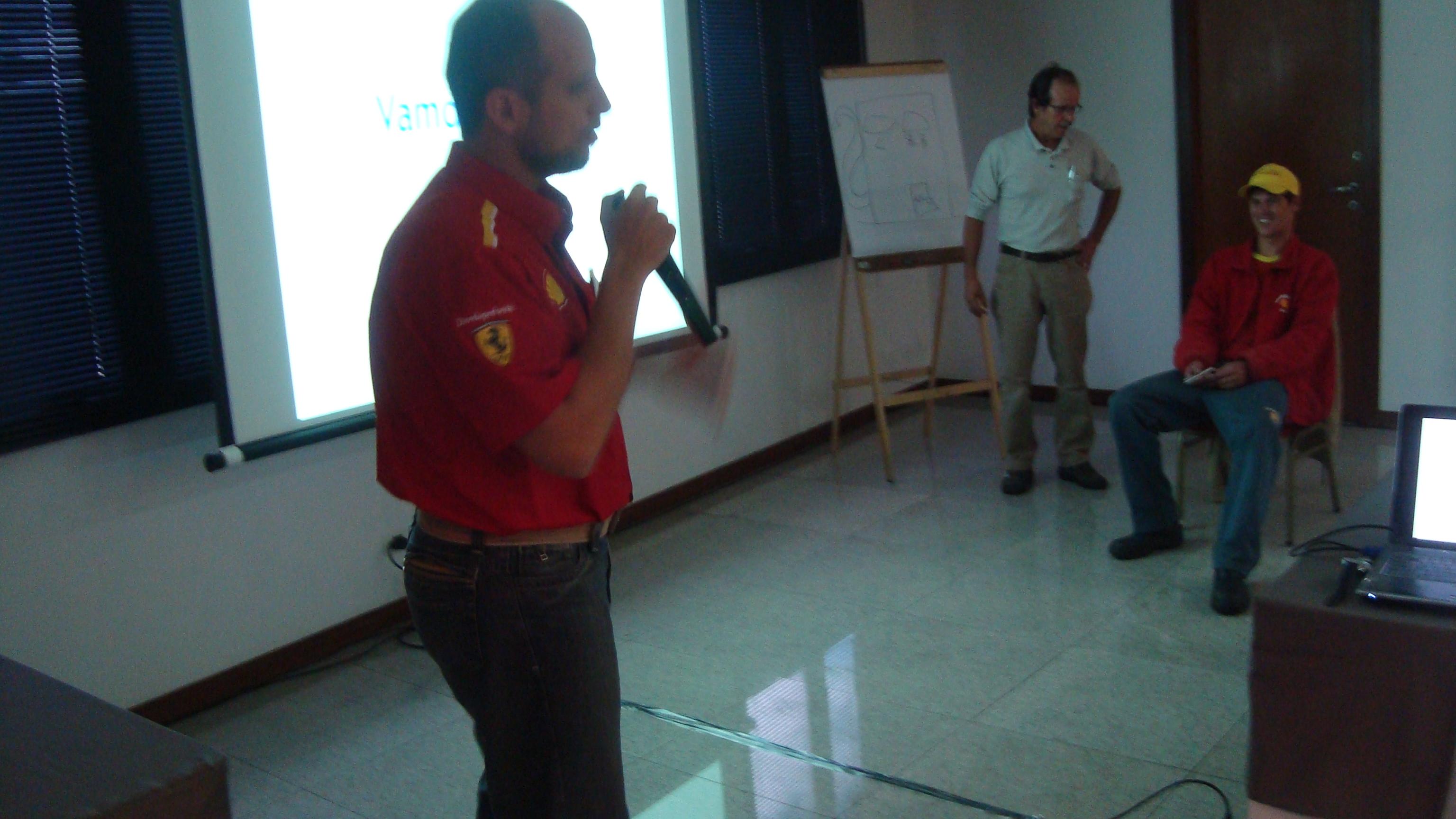 Claudio Moreira no Projeto Diesel S50 e Arla 32