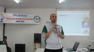 Palestra na SIPAT da Bueno Engenharia, no Complexo Petroquímico de Itaboraí.